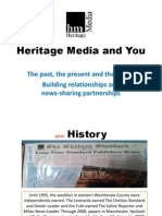 Heritage Media Focus Group