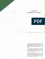 Cuadernos - Leopoldo Lugones