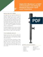 Especificaciones Transmisores Digitales Es II