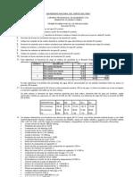 Primer Examen Parcial de Irrigaciones 2008-II Resuelto