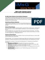St. Mark's Small Group Leadership Manual