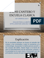 Saens Cantero y Escuela Clasica