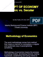 01- Concept of Economy-Islamic vs Secular