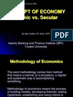 01- Concept of Economy-Islamic vs Secular