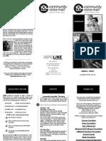 CVM Brochure 2009