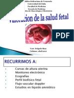 Tema 1 Valoracion de La Salud Fetal