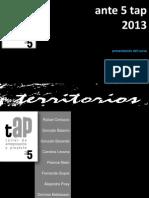Presentación ante 5 2013