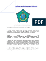 Arti Lambang Daerah Kabupaten Sidoarjo