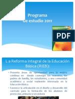 2 Introducción al PEP2011 pag. 11 a 26
