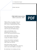A Van Jordan - Red Balloon Poem