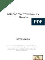 Derecho Constitucional en Francia