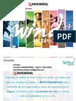 WIND RESIDENCIAL da ODEBRECHT em Jacarepaguá -  2 e 3 quartos - Tel 21 7602-8002 - Corretor MANDARINO - mandarino,patrimovel@gmail.com