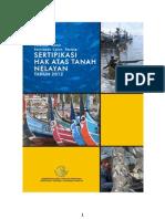 Juknis Sertifikasi Hak Atas Tanah (SEHAT) Nelayan