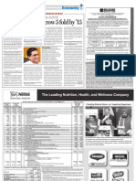 Biotechsector to grow five-fold in India by '15 from The Financial Express (India) , 23 February, 2011