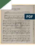 Brahms - Von Ewiger Liebe Medium Voice
