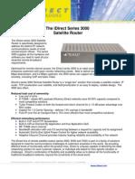 iDirect Series 3000 Remote