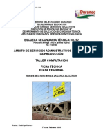 Análisis de Objeto Técnico La Cerca Electrica