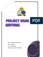 My Project Work Add Math 2012