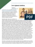 Infocatolica.com-La Cara Oculta de La Iglesia Catlica