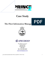 PRINCE2 Case Study Fleet