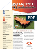 Accountancy@UJ - Newsletter - 2012