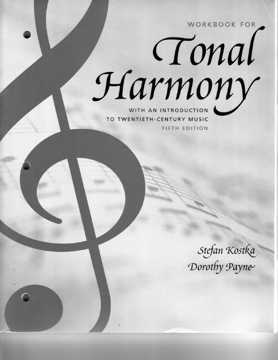 Tonal harmony work book fandeluxe Gallery