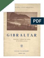 Gibraltar. Derechos y misión de España en la hora actual