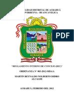 Funciones Del Alcalde y Regidores