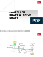9.C. Propeller Shaft & Drive Shaft