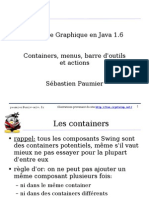 Containers, Menus, Barre d'Outils