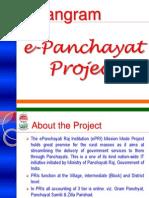 Sangram (E-Panchayat) Presentation