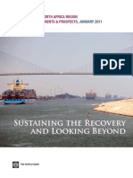 Middle East and North Africa Economic Developments and Prospects, January 2011