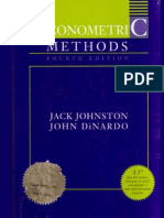 Jack Johnston and John Dinardo(1997)_Econometric Methods