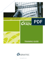 Advance Steel 2011 Training Manual