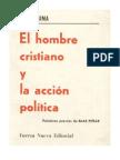 El hombre cristiano y la acción política