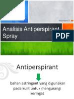Aomk Antiperspiran SPRAY