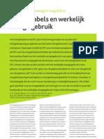 OTB Delft artikel energielabel