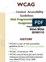 WCAG Overview