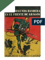 Con la Segunda Bandera en el Frente de Aragón