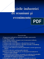 Provocările industriei de reuniuni şi evenimente