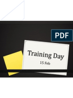 training day 15 feb