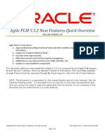 Agile PLM 9.3.2 New Features