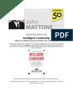 John Mattone's Presentations on Leadership