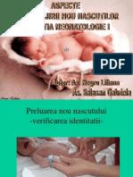 Aspecte Ale Ingrijirii Nou Nascutilor in Sectiei Neonatologie I