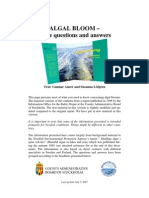 Algal Bloom Questions and Answers