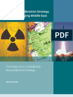 u.s. Non Proliferation Policy for M-e