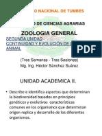 2 Zoologia General Segunda Unidad Continuidad y Evolucion de La Vida