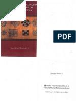 117213369 Hacia La Descolonizacion de La Ciencia Social Latinoamericana Juan Jose Bautista