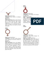 Solar System Document
