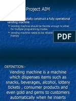 Vending Machine Presentation